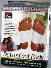 Buy Detox Foot Pads 10 Pc Pack Detoxify Beauty Health Cleansing Purification Remedy