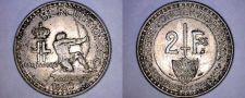 Buy 1926 Monaco 2 Franc World Coin
