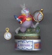 Buy Disney Alice In Wonderland White Rabbit Porcelain PHB