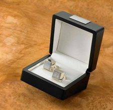 Buy Sterling Silver Plated Cufflinks-Free Engraving