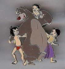 Buy Jungle Book 2 Baloo and kids full body Disney Authentic pin/pins
