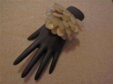 Buy New Womens Cluster Bead Stretch Bracelet # 36