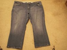 Buy Lands' End Jeans 26W Orig Fit / Modern Waist/ Boot Leg