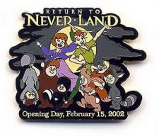 Buy Disney WDW - Return To Neverland - Peter Pan Lost Boys Opening Day pin/pins