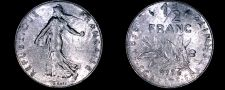 Buy 1976 French Half (1/2) Franc World Coin - France