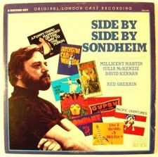 Buy SIDE BY SIDE BY SONDHEIM *** 1976 Soundtrack LP Double Album