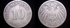 Buy 1900 J German 10 Pfennig World Coin - Germany