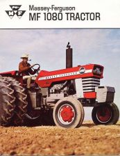 Buy MASSEY FERGUSON MF1080 REPAIR MANUALS 220pg for MF 1080 Workshop Tractor Service