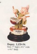 Buy Disney Snow White Dopey Drummer Laurenz Capodimonte C.O.A. Original Box