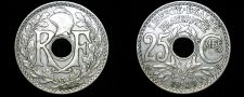 Buy 1929 French 25 Centimes World Coin - France