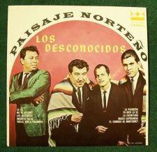 Buy PAISAJE NORTENO ~ LOS DESCONOCIDOS / LP Mexico