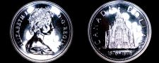 Buy 1976 PL Canadian Silver Dollar World Coin - Canada Centennial Library Building