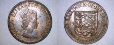 Buy 1964 Jersey 1/12 Shilling World Coin