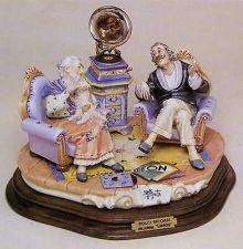 Buy CAPODIMONTE Sweet Memories by Enzo Arzenton Laurenz Sculpture COA Italy