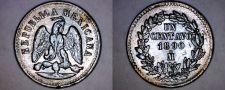 Buy 1890-Mo Mexican 1 Centavo World Coin - Mexico