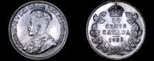 Buy 1936 Canada 10 Cent World Silver Coin - Canada - George V