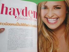 Buy HAYDEN PANETTIERE 3 pages Magazine Clipping of Seventeen 2008 THAILAND,Very RARE