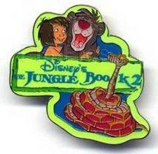 Buy Jungle Book 2 - Mowgli Baloo Kaa UK Disney Authentic Pin/Pins