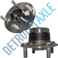 Buy Pair of 2 -NEW Rear Driver and Passenger Wheel Hub and Bearing Assembly w/o ABS