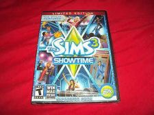 Buy THE SIMS 3 SHOWTIME LIMITED EDITION PC & MAC NEW & FACTORY Y-FOLD SEALED