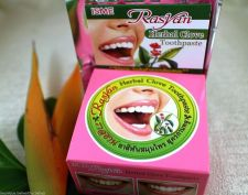 Buy Rasyan Herbal Clove Toothpaste Anti Bad Breath Whitening 25g Muay Thai Free Ship