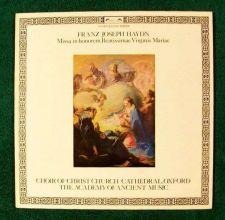 Buy FRANZ JOSEPH HAYDN ~ Missa in honorem Beatissimae Virgins Mariae LP