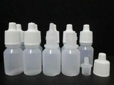 Buy Lot 50 Empty Squeezable Dropper Plastic Bottle Travel Eye Liquid Dropper 10 ml