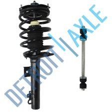 Buy NEW Rear Driver or Passenger Ready Strut Assembly + Sway Bar Link