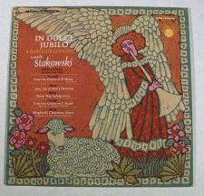 Buy IN DULCI JUBILO ~ Leopold Stokowski / A Baroque Concert Classical LP