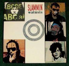 """Buy SLAMMIN' WATUSIS """" Slammin' Watusis """" 1988 Punk Rock LP"""