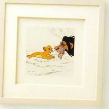 Buy Disney Lion King Villain Uncle Scar Framed Art Ship Wor