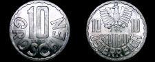 Buy 1971 Austrian 10 Groschen World Coin - Austria