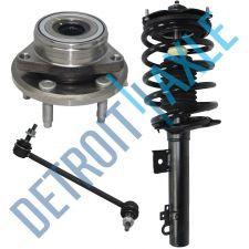 Buy NEW 1 Front Driver Ready Strut Assembly + 1 Wheel Hub and Bearing + 1 Sway Bar