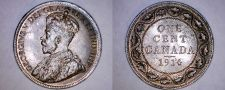 Buy 1914 Canada 1 Large Cent World Coin - Canada