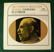 Buy FRANCK ~ Symphony In D Minor / Sir Thomas Beecham Classical LP