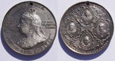 Buy 1897 Great Britain Queen Victoria 60th Year of Reign Anniversary Medal
