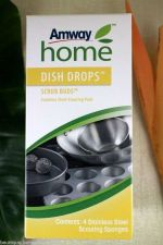 Buy Amway Cleaner Scrub Bud Home Dishdrop Stainless Steel Fiber Easy Clean 4pcs/Box