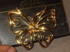 Buy Sarah Coventry Jewelry ..Butterfly Pin (Monarch Pin) ...#1015