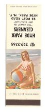 Buy New York Hyde Park Matchcover Pin Up / Nudes / Girlie / Glamour Hyde Park ~116