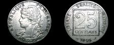 Buy 1903 French 25 Centimes World Coin - France