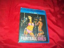 Buy BIKINI GIRLS IN ACTION PAINTBALL GIRLS BLU-RAY 3D DVD NEW & FACTORY SEALED!