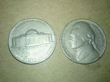 Buy 1952 Jefferson Nickel 5c Split after error RARE COIN Check out the photos!