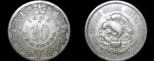 Buy 1938 Mexican 10 Centavo World Coin - Mexico