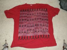 Buy Beatles Abby Road Red Tshirt