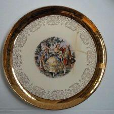 """Buy SABIN *11"""" / 22kt Gold Crested Plate *Vintage Collectable*"""