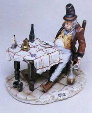 Buy CAPODIMONTE The Big Eater by Enzo Arzenton Laurenz Classic Sculpture Italy