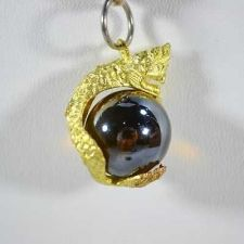 Buy NAGA BROWN EYE BALL, THAI RARE AMULET NECKLACE LP BUDDHA MAGIC LUCKY CRYSTAL