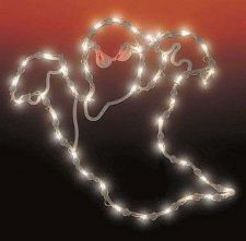 Buy Impact Innovations Lighted Ghost Silhouette 17x16 Halloween Holiday Decor Outdoo