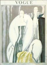 Buy Vogue 1921 Cover Print Lady Man Fashion Suit Art Deco 1984 original print