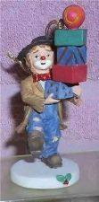 Buy Emmett Kelly Jr circus clown Signed on Box Pile of Package Flambro ornament MIB
